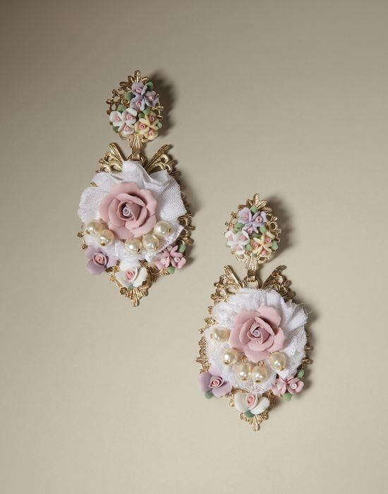 Dolce & Gabbana and Baroque-style jewelry