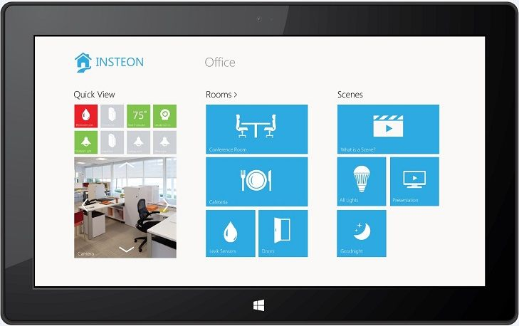 Windows 8 Home Design App Part - 37: Insteon Windows 8 Home Automation App
