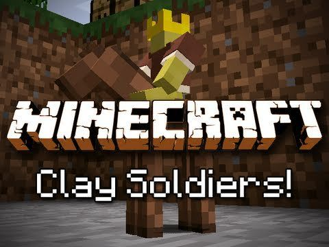 How To Get The Clay Soldiers Mod In Minecraft