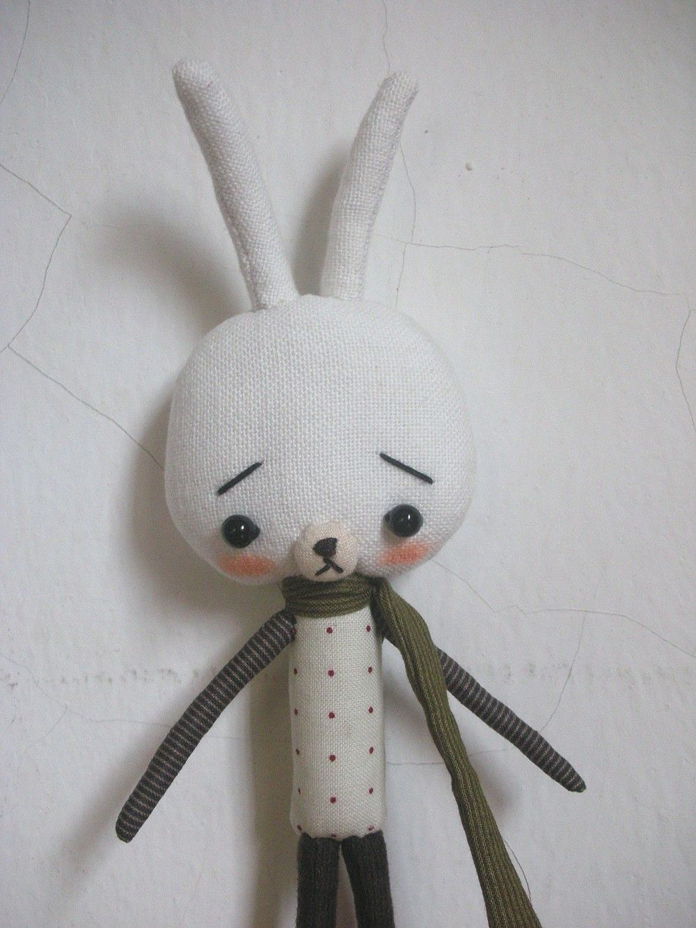 Bunny with his scarf