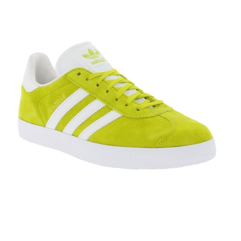 adidas Shoes   Neon Green Adidas Gazelle Sneakers   Color: Green/Yellow   Size: …