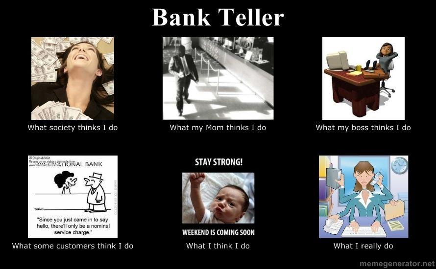 Pin by Rebecca Goodridge on Bank Banking humor, Bank