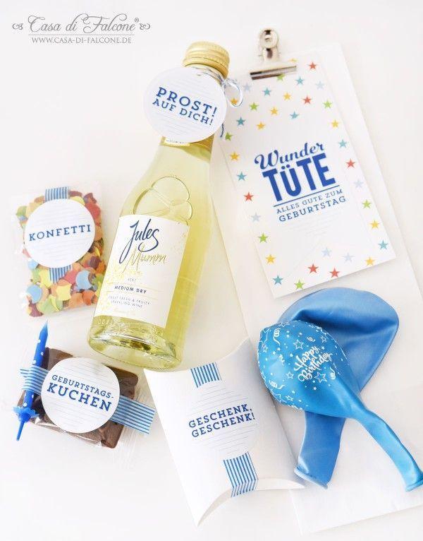 Wundertute Zum Geburtstag Verpackungsidee Casa Di Falcone Geschenke Verpacken Im Glas Geschenke Geschenkideen