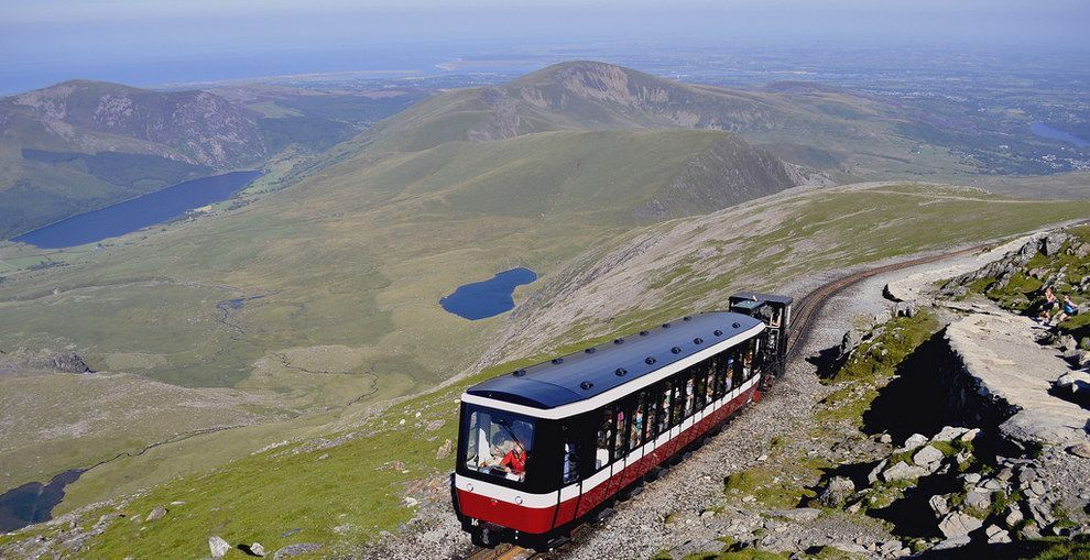 Boring. #visitwales Snowdon Mountain Railway, Gwynedd.. | 30 Reasons You Should Never Visit Wales #visitwales
