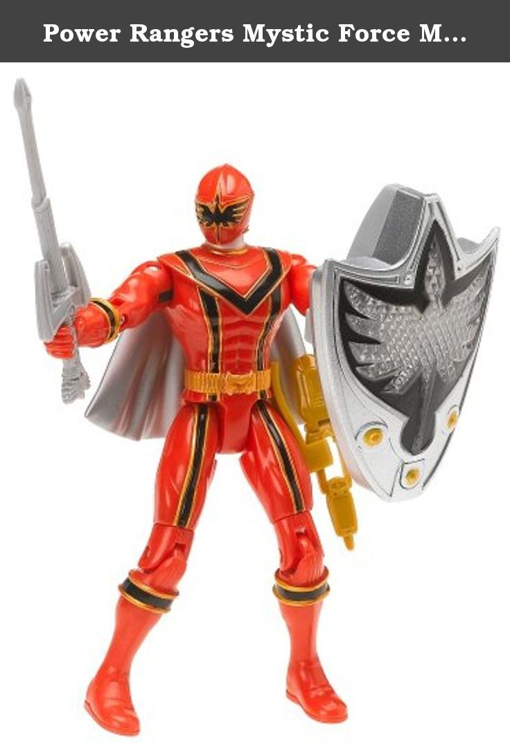 Power Rangers Mystic Force Evil Space Alien avec arme ACTION FIGURE NEW