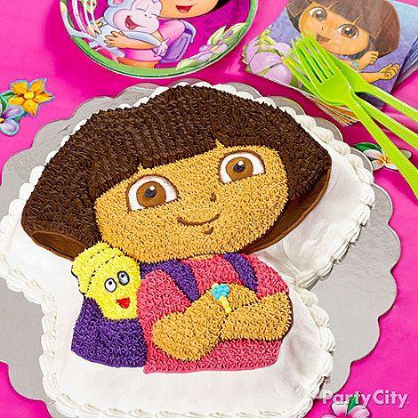 Dora Cake Pan Party City