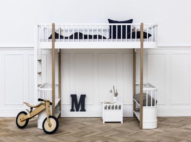 Lit design mezzanine enfant slaapkamer kidsroom