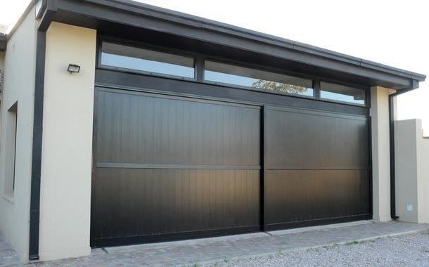 Portones casa nueva in 2019 metal garage doors garage - Puertas automaticas para cocheras ...
