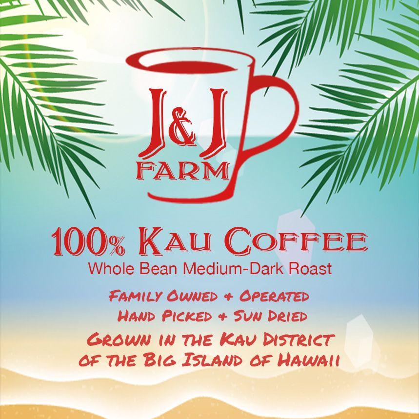Coffee grown in the Ka'u region of Hawaii is some of the