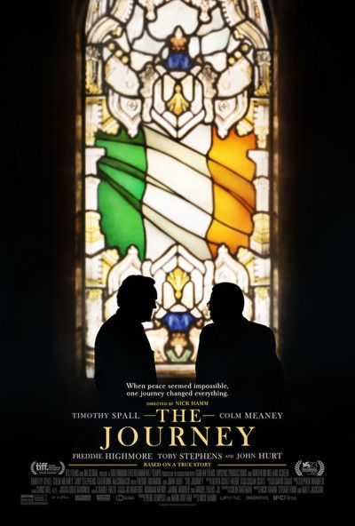 The Journey - new movie poster -> https://teaser-trailer.com/movie/the-journey/  #TheJourney #TheJourneyMovie #TimothySpall #ColmMeaney #MoviePoster