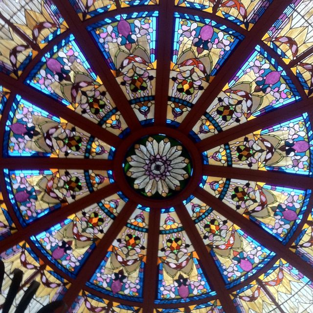 Image result for palm court window at Empress