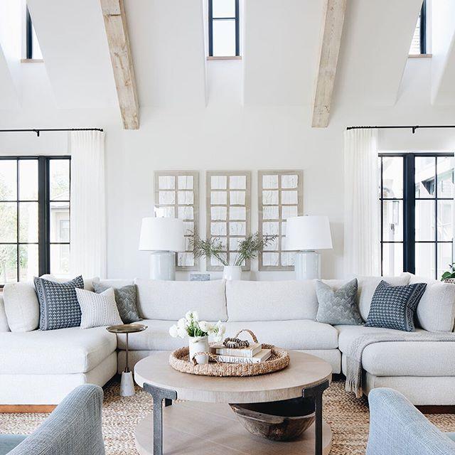 The Prettiest Modern Farmhouse | lark & linen