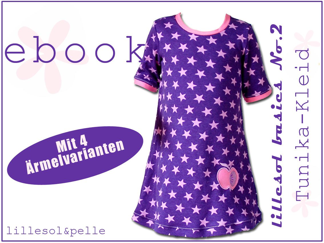 Ebook / Schnittmuster lillesol basic No.2 Tunika-Kleid   nähen ...