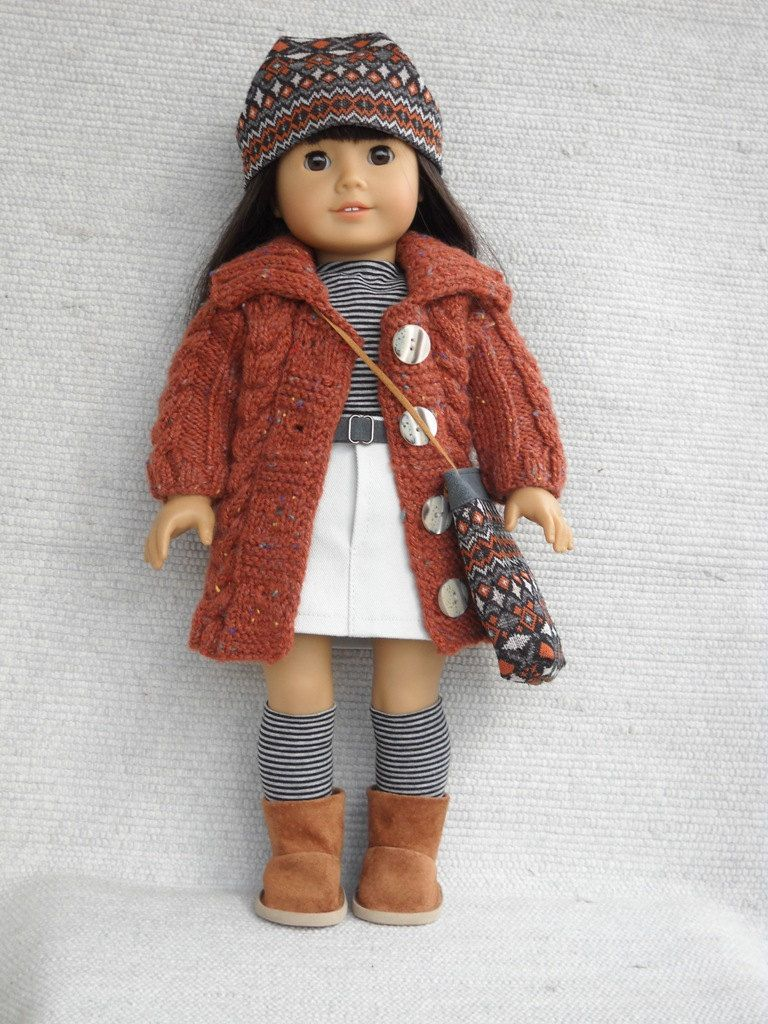 American Girl Doll Clothes - 7 piece outfit | Puppenkleider, Puppen ...