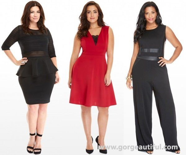 Plus Size Tail Attire Fall Winter 2016
