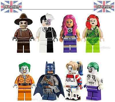 Batman harley #quinn #joker 8x figures set & fits lego suicide squad uk #seller, View more on the LINK: http://www.zeppy.io/product/gb/2/152286708176/