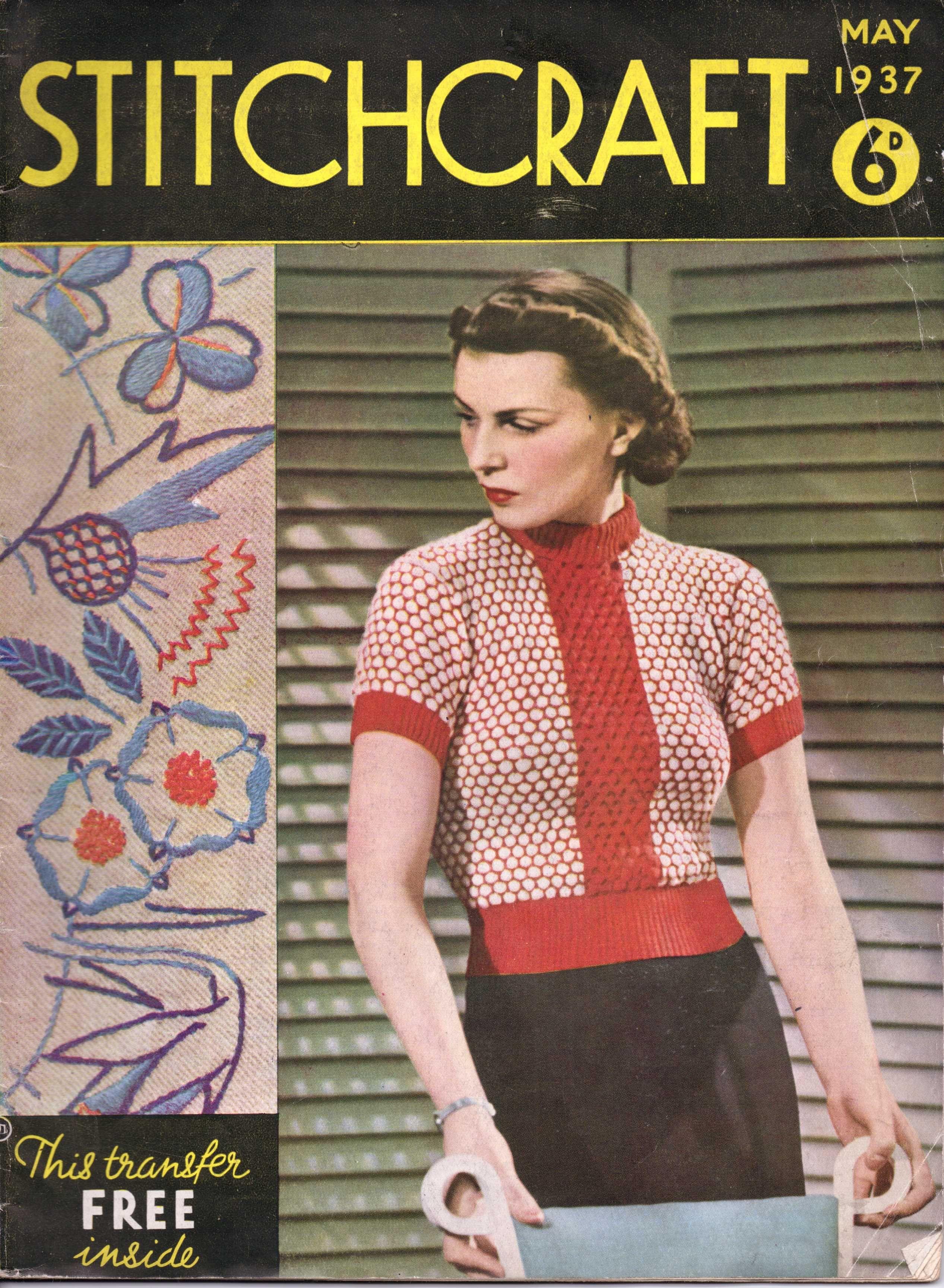 Stitchcraft May 1937 free vintage knitting pattern | knitting is my ...