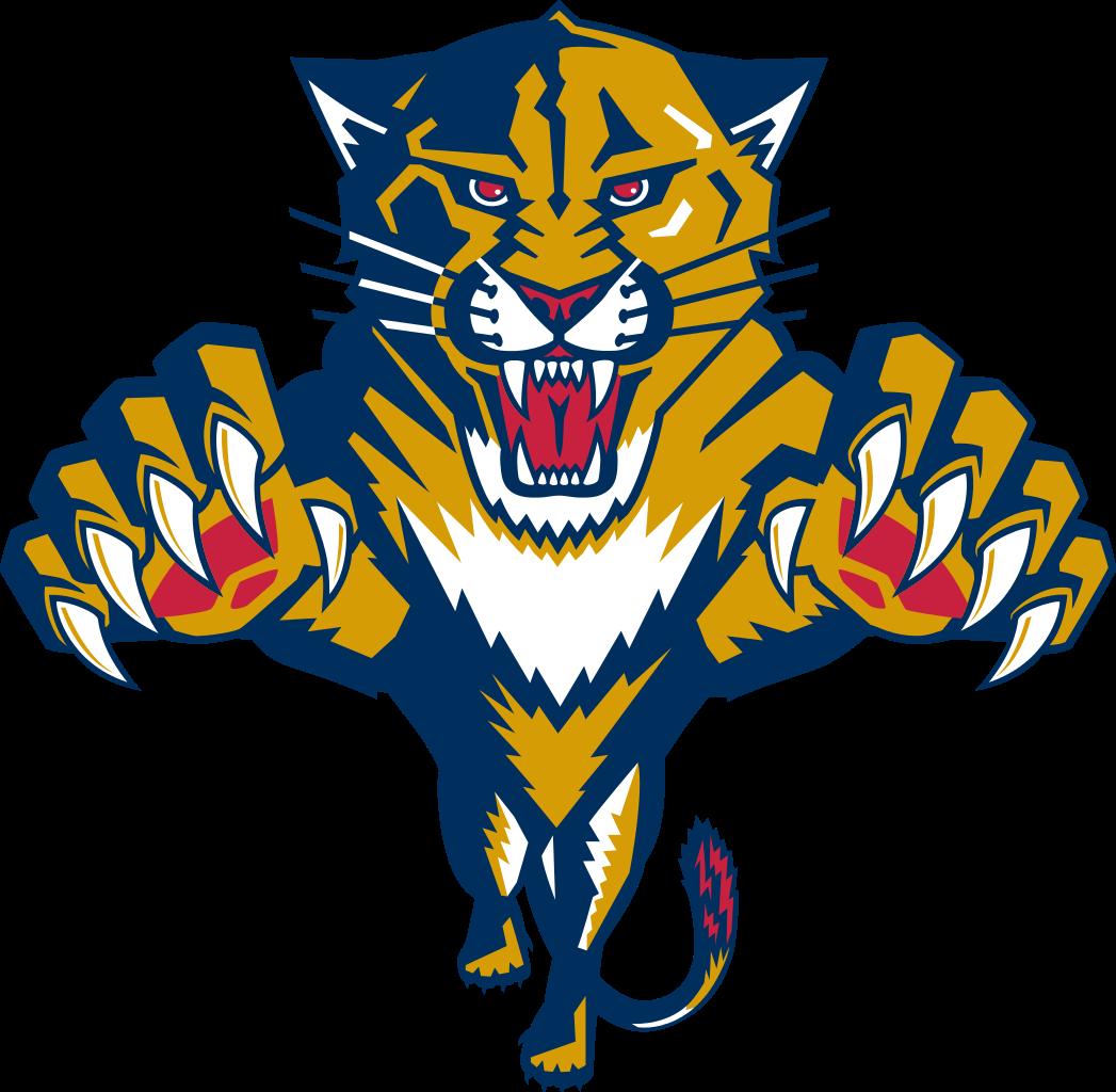 Florida Panthers Logo Binatang Desain Logo Logo Keren