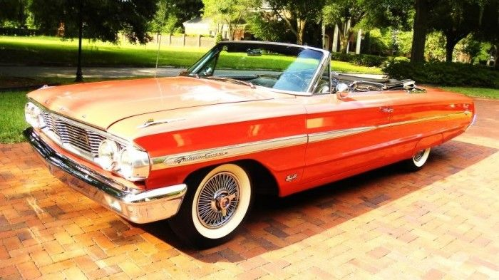 64 Ford Galaxy 500 Ford Galaxie Ford Galaxie 500 Galaxie