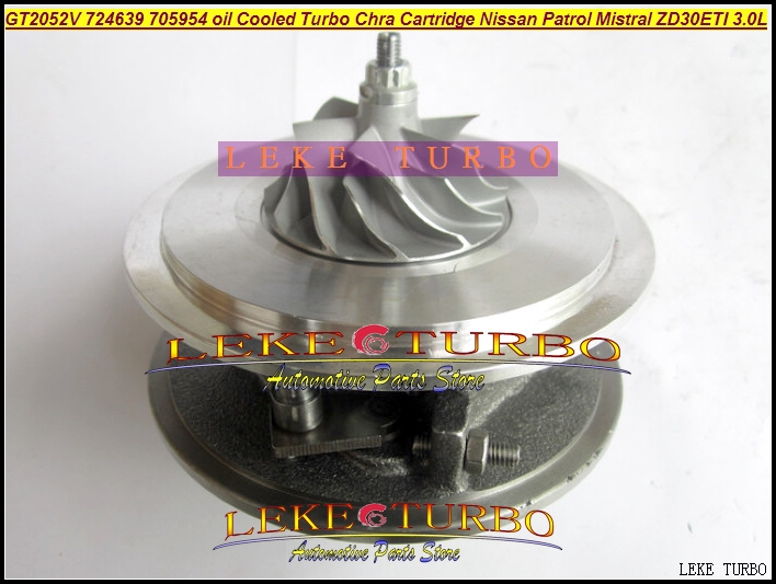 154.24$  Watch here - http://aliyxb.worldwells.pw/go.php?t=32648307691 - Free Ship Turbo Cartridge CHRA Core GT2052V 724639 724639-5006S Oil Cooled Turbocharger For NISSAN Patrol Terrano 2 ZD30DTI 3.0L 154.24$