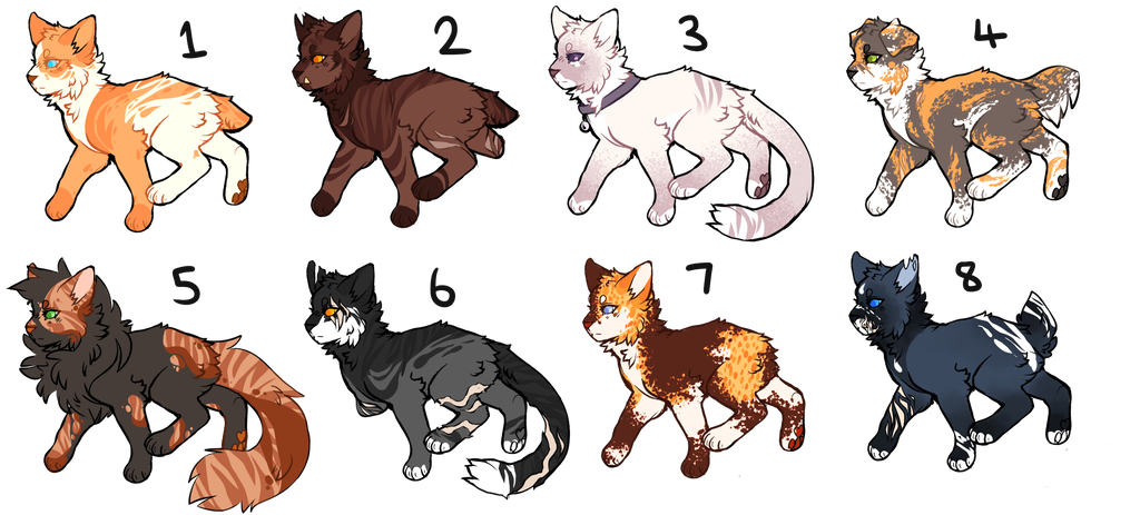Photo of CLOSED Cat Adopts 0/8 by oisinful on DeviantArt