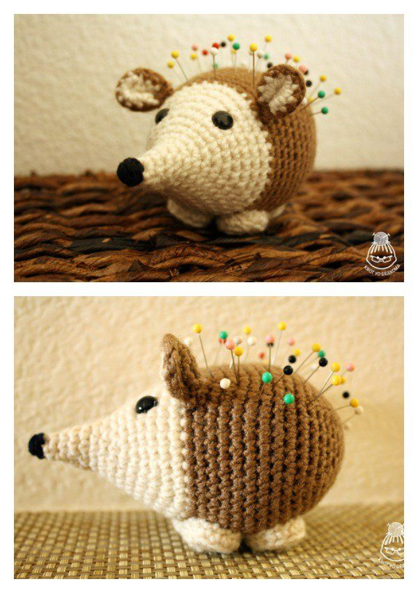 Crochet Hedgehog Amigurumi Free Patterns | Pinterest | Ganchillo ...