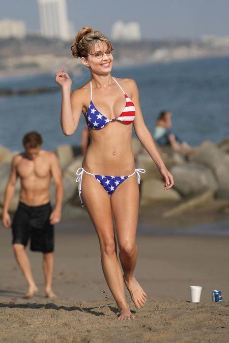 Scuba flag bikini