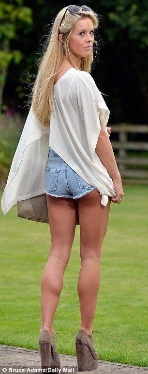 Mature women wearing short shorts