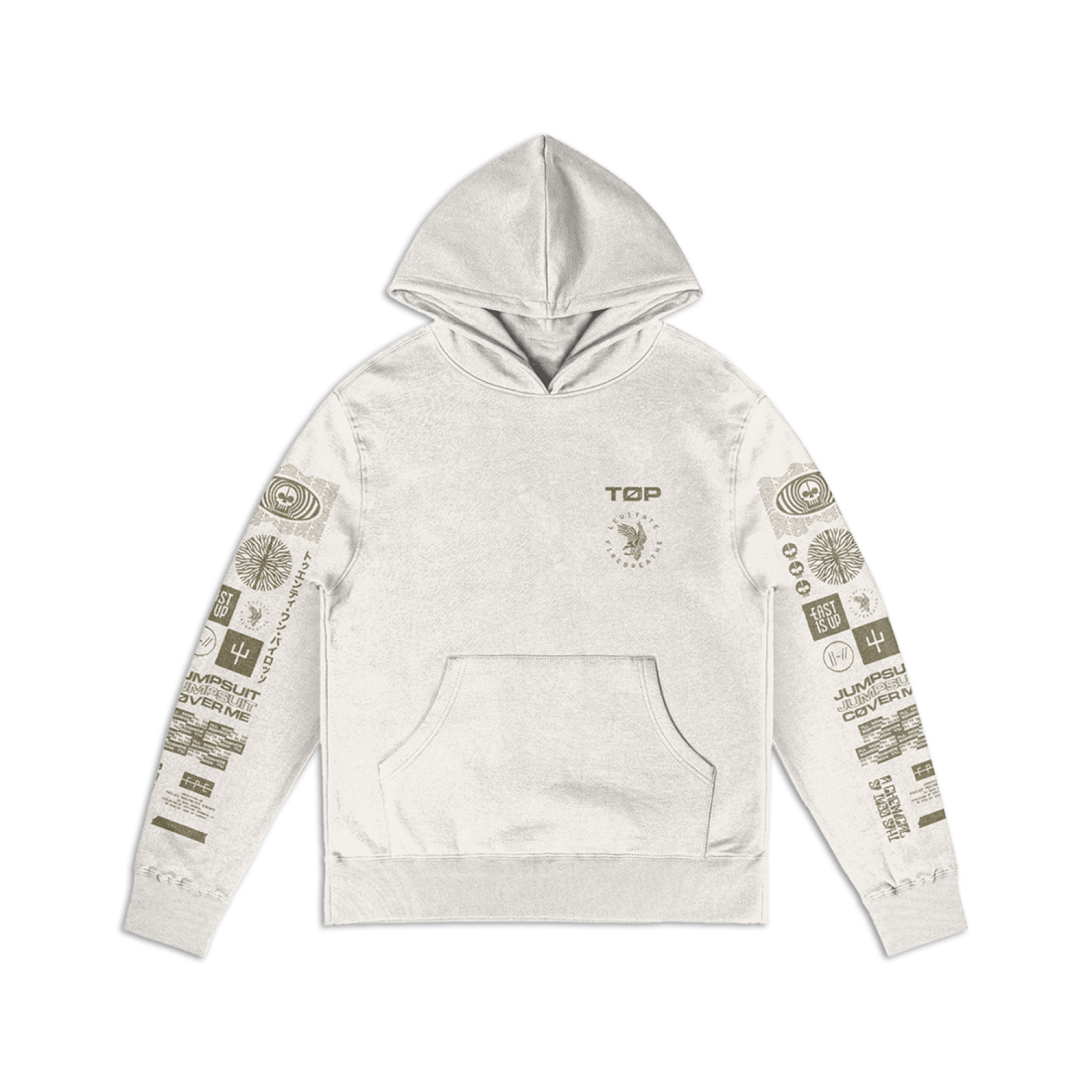 Not your ordinary Pullover Hoodie. Fits a woman's body with