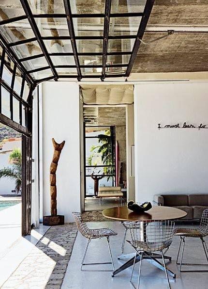 Bridging The Gap Inspiring Indoor Outdoor Spaces Glass Garage Door Garage Door Windows Garage Doors