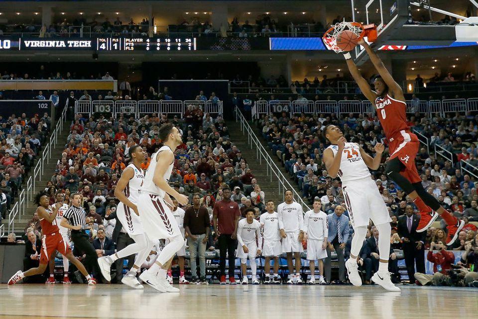 NCAA Tournament Alabama vs. Virginia Tech Ncaa