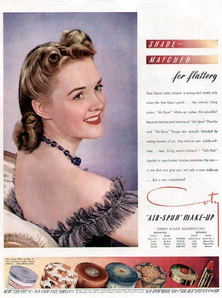 The DC Metro Retro: A 1940s Makeup Tutorial