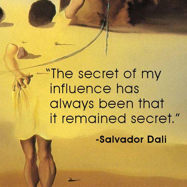 Quote - Salvador Dali #SalvadorDali