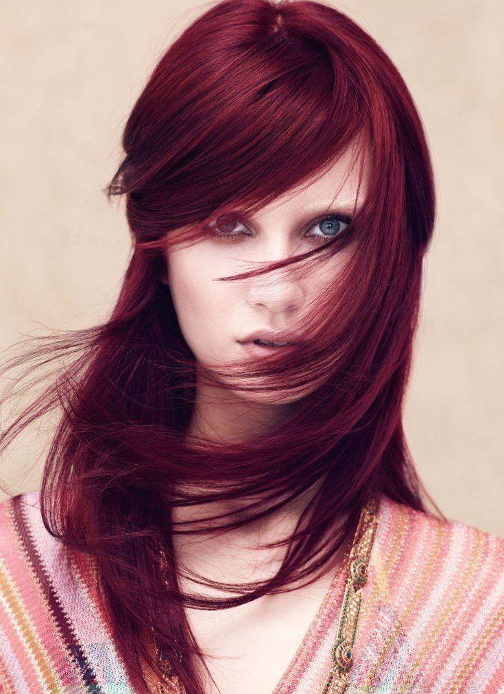 Haarfarben Rottöne