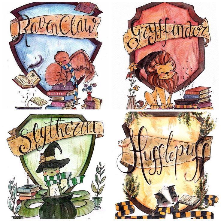 Hogwarts   Dessin harry potter, Maison de poudlard