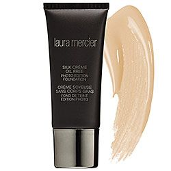 Laura Mercier - Silk Crème Oil Free Photo Edition Foundation  #sephora