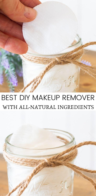 DIY Makeup Remover Recipe Diy makeup remover, Makeup