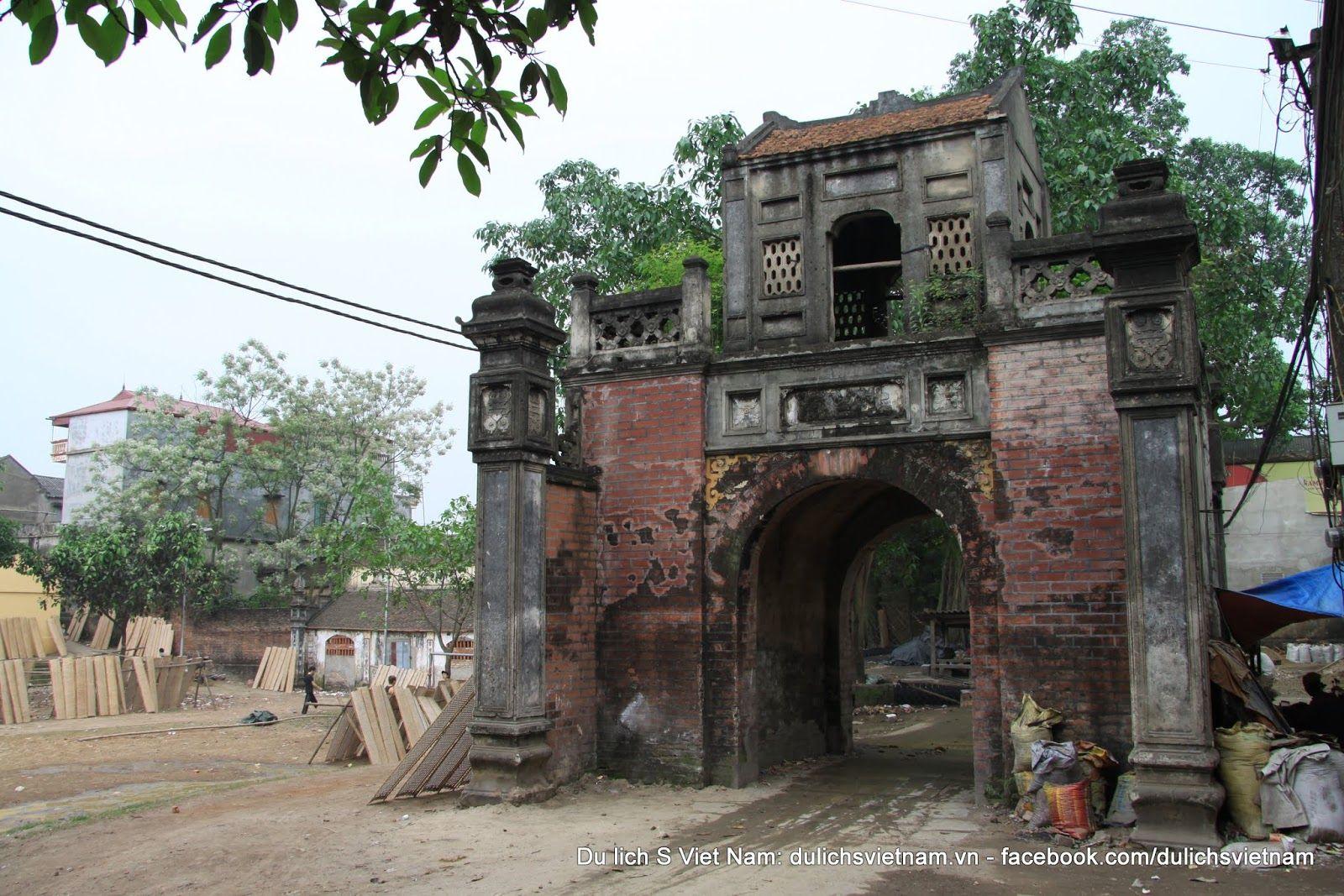 Discovery Vietnamese village, Village Gate, Vietnamese