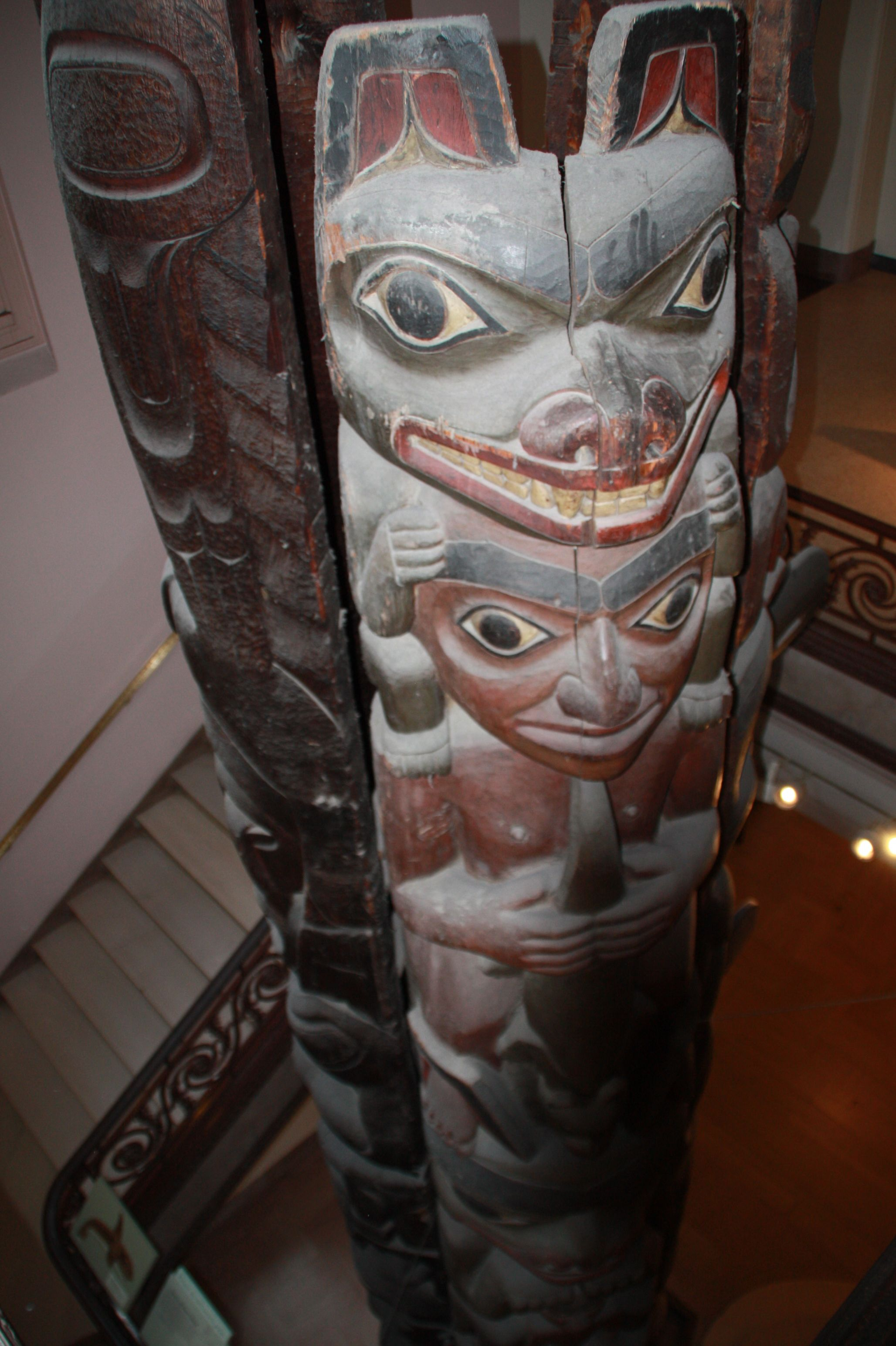 Totem Pole In Smithsonian Museum Of Natural History