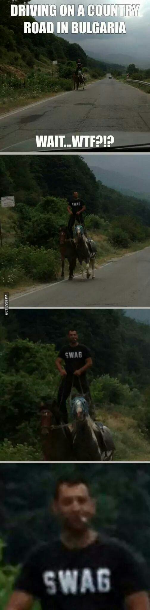 Driving in Bulgaria.. WTF? SWAG
