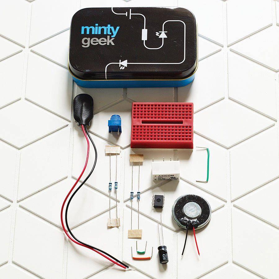 Electronic Lab 101 Kit Tech Kids Pinterest Electronics Kits For By Minty Geek Notonthehighstreetcom