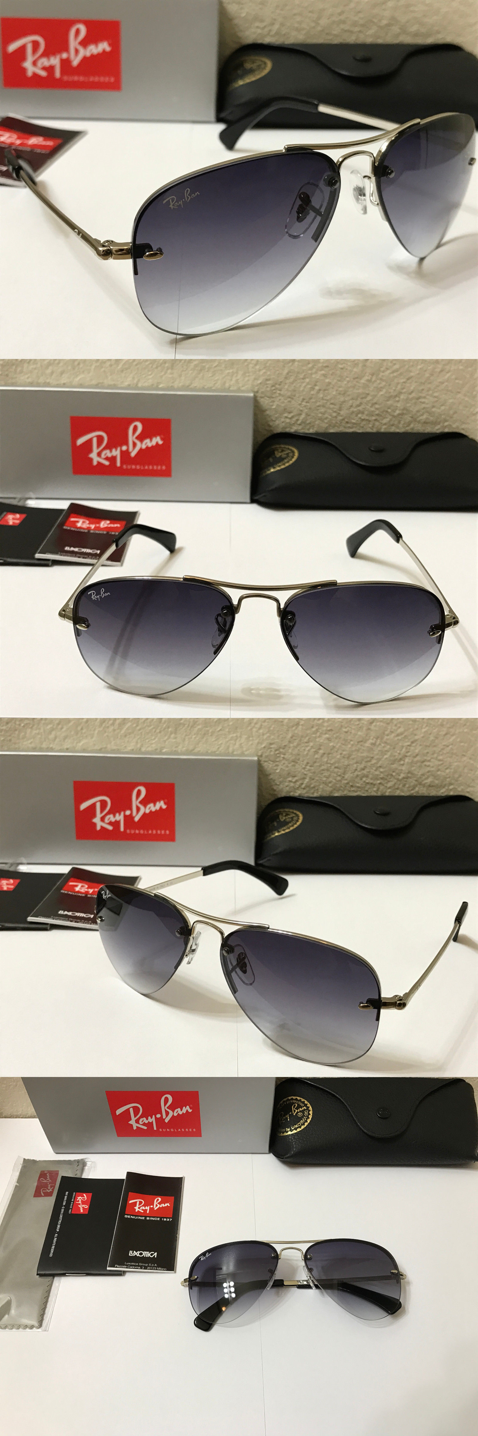 0d834a24c9 ... where can i buy sunglasses 155189 ray ban rb3449 003 8g highstreet sunglasses  silver grey gradient