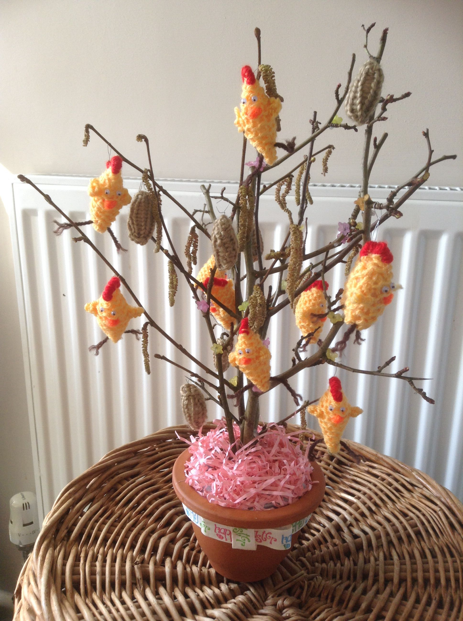 My eater chicken tree