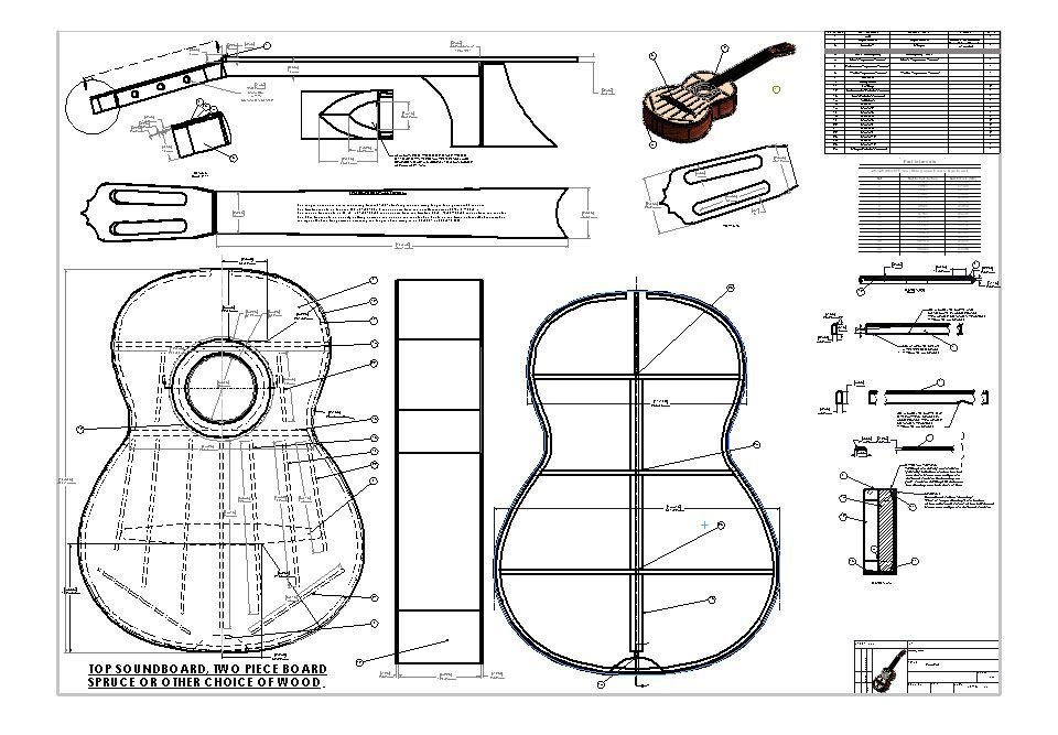 Jose ramirez classical guitar blueprint plans design drawings jose ramirez classical guitar blueprint plans design drawings malvernweather Choice Image