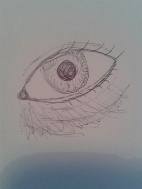 Tired eye scribble c: