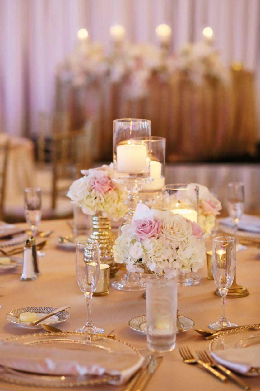 Timeless Elegant Blush Pink & Gold St. Pete Beach Wedding ...