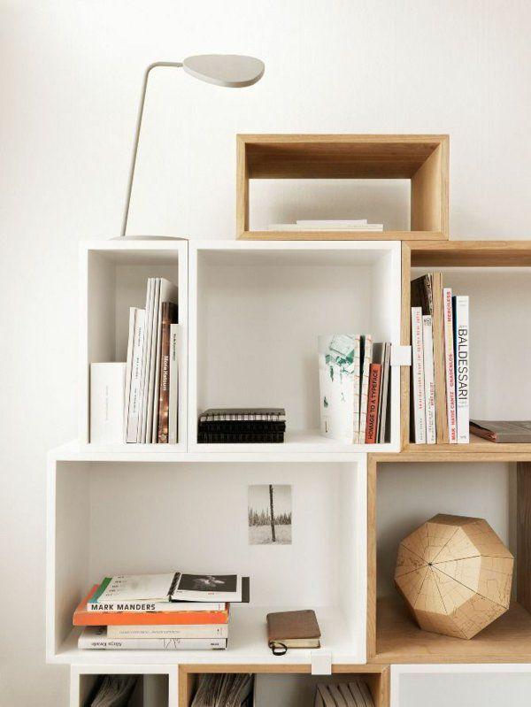 Bücherregale Holz Skandinavische Möbel