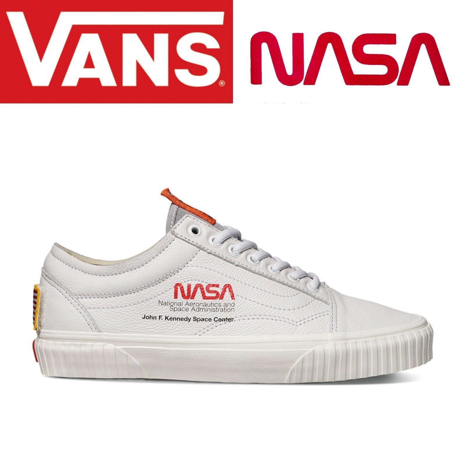 Vans Old Skool NASA Space Voyager True White 2020 | 우주