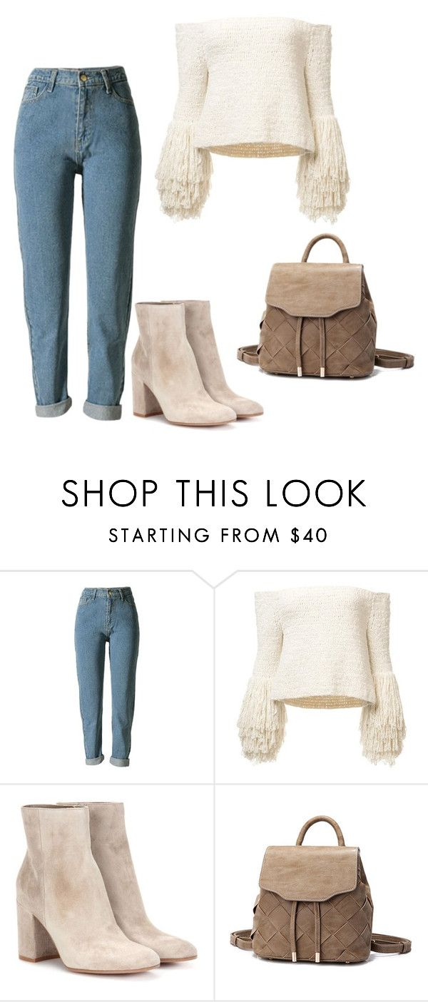 """Untitled #719"" by vaniadenisse16 ❤ liked on Polyvore featuring Gianvito Rossi"