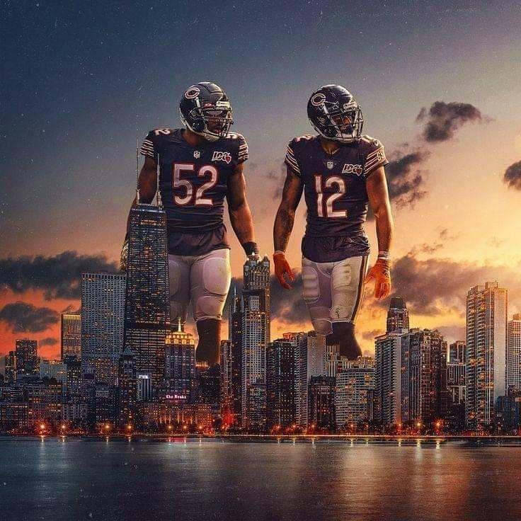 Pin by Joshua Simenson on Sports   Chicago bears wallpaper ...